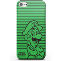 Nintendo Super Mario Luigi Retro Colour Line Art Phone Case for iPhone and Android - iPhone 7 - Tough Case - Gloss