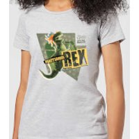 Toy Story Partysaurus Rex Women's T-Shirt - Grey - 4XL - Grey